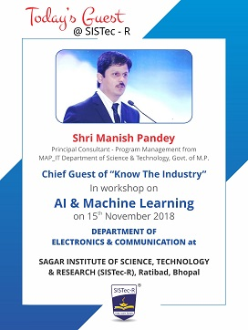 tech talk machine learning, colleges in ratibad, list of engineering colleges, top 10 engineering colleges in bhopalentrance exam btech admissions